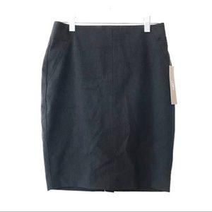 Ann Taylor LOFT Petites Size 0P Navy Pencil Skirt